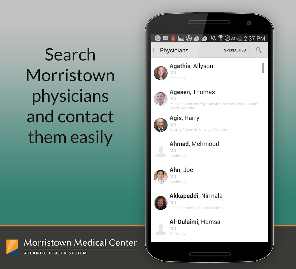 Be Well - Morristown Medical- screenshot