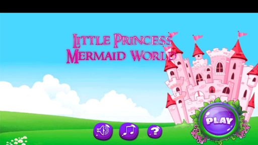 Little Princess Mermaid World Running Game 1.2 screenshots 1