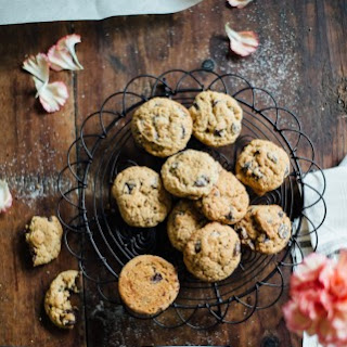 Soft Whole-grain Chocolate Chip Cookies