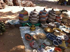 Photo: Senegalese Storage Baskets Senegalese Storage Baskets