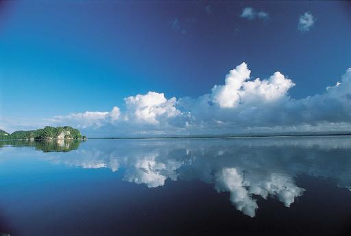 Dominican-Republic-Lago-Enriquillo - Lago Enriquillo is a large lake in the southwestern corner of the Dominican Republic.