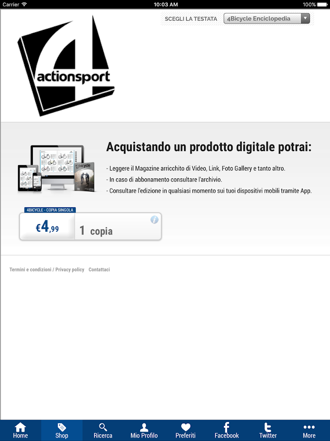 4ActionSport- screenshot