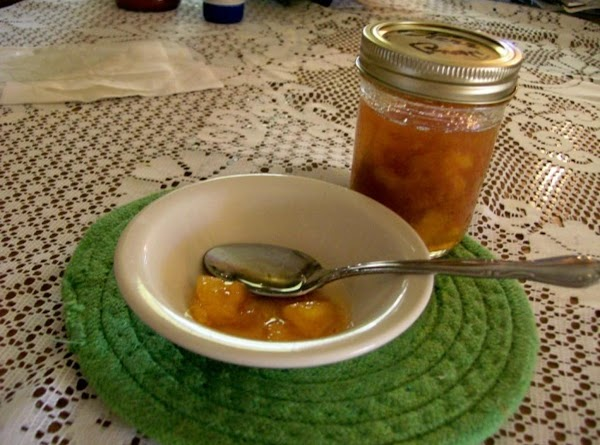 Spiced Peach Jam (homemade) Recipe