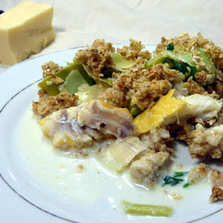 Frying Pan Fish Crumble
