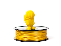Gold MH Build Series PLA Filament - 3.00mm (1kg)