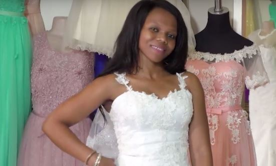 What muthi is this?' - OPW Bride has 4 kids at 28 & is body goals
