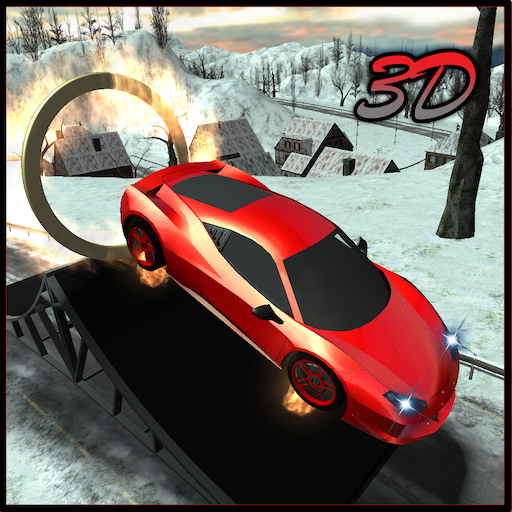 Snow Car Driving Stunts Sim 3D