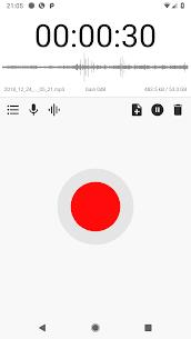 Gravador grátis de áudio MP3 ASR [Pro Unlocked] 2