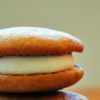 Pumpkin Whoopie Pies with Maple Filling