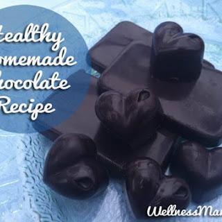 Healthy Homemade Chocolate.