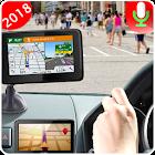 Voz Navegación GPS Direcciones Ruta Vivir Mapa icon