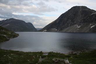Photo: На обратной дороге - озеро в горах