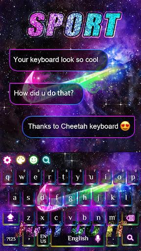 Keyboard theme for Sports 10001001 screenshots 4