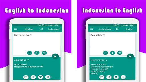 Translate English Indonesian Screenshot 10