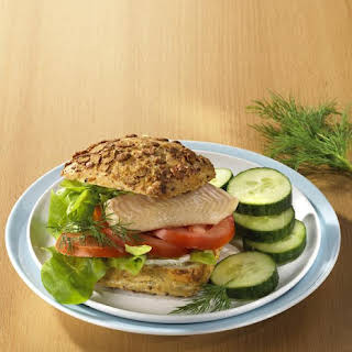 Smoked Trout Burger.