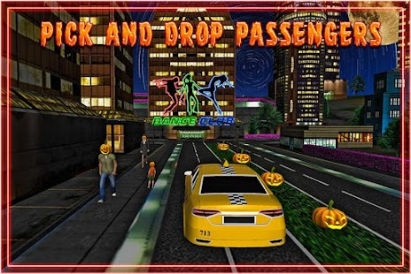 Halloween Party Taxi Driver screenshot