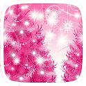 Pink Merry Christmas Theme icon
