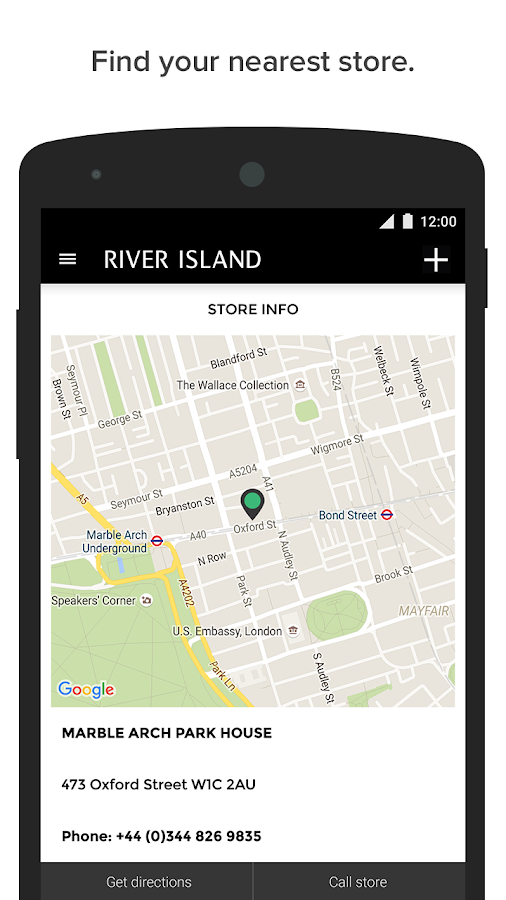 River Island- screenshot