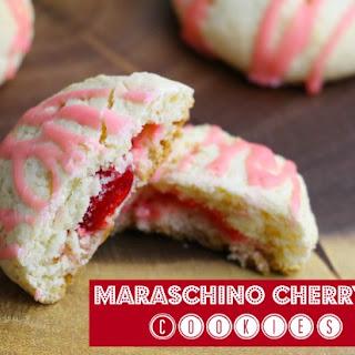 Maraschino Cherry Cookies
