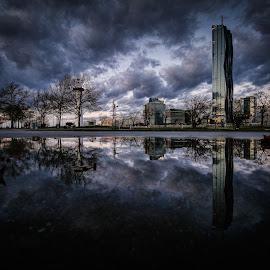 by Zoran Osijek - City,  Street & Park  City Parks ( reflection, wien )