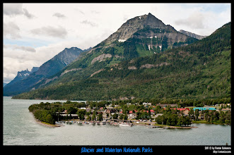 Photo: Waterton National Park: Waterton Village.