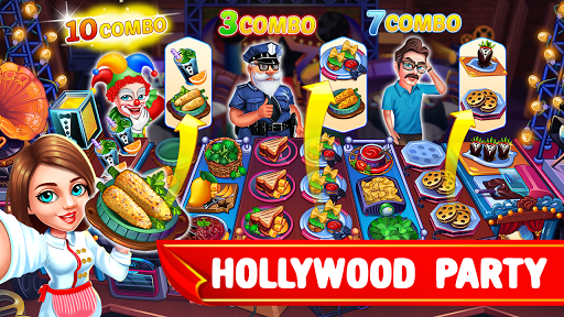 Cooking Party: Restaurant Craze Chef Cooking Games android2mod screenshots 3