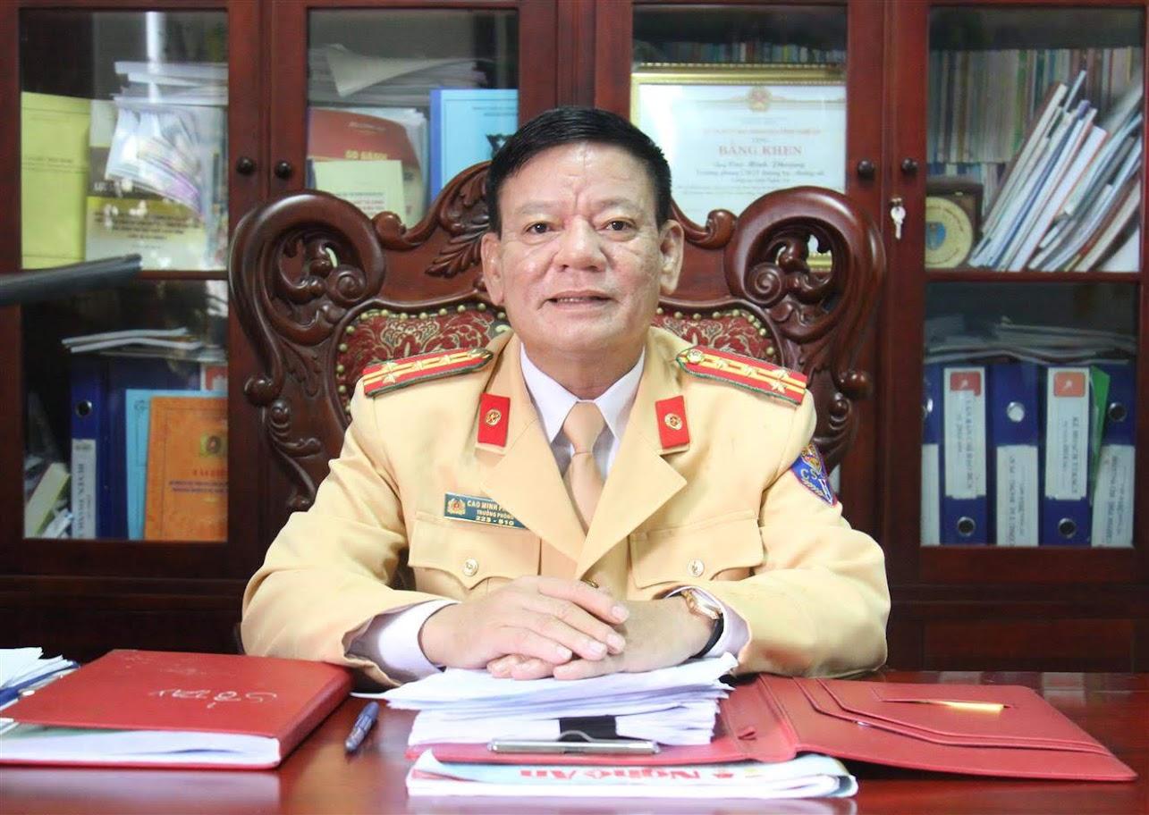 Đại tá Cao Minh Phượng, Trưởng phòng CSGT
