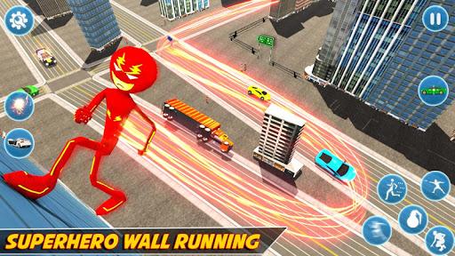 Flash Stickman Rope Hero u2013 Speed Hero Crime City 1.7 screenshots 3