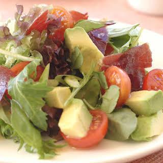 Avocado and Prosciutto Salad.