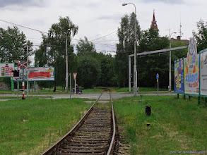 Photo: Bocznica przecinająca Prazską tr. {Ceske Budejovice; 2015-06-22}