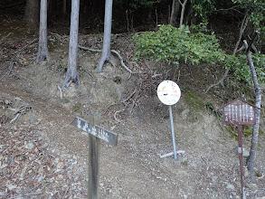 白倉山登山口(青根ヶ峰まで6.8km)