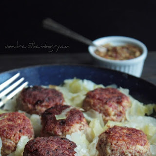 Corned Beef and Cabbage Meatballs (Low Carb and Gluten Free).
