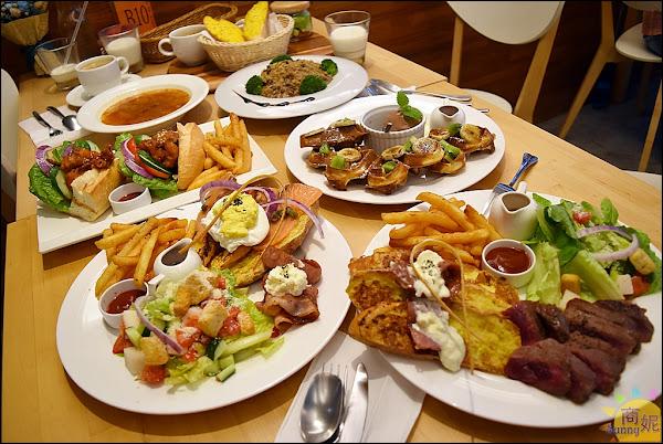 台中西區早午餐飲料喝到飽。莎莎莉朵Sausalito CAFE。美術館巷弄小秘境,大份量平價美味聚餐首選