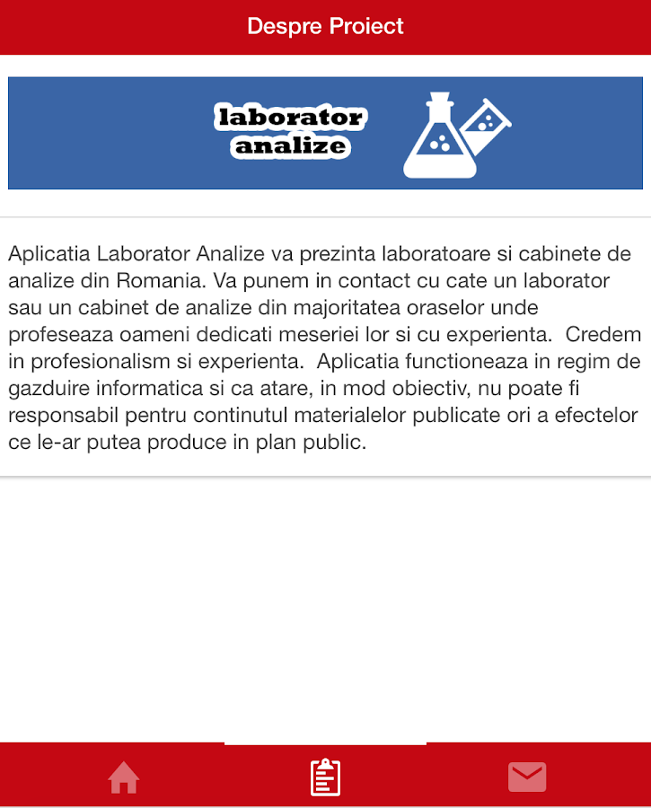 Laborator Analize- screenshot