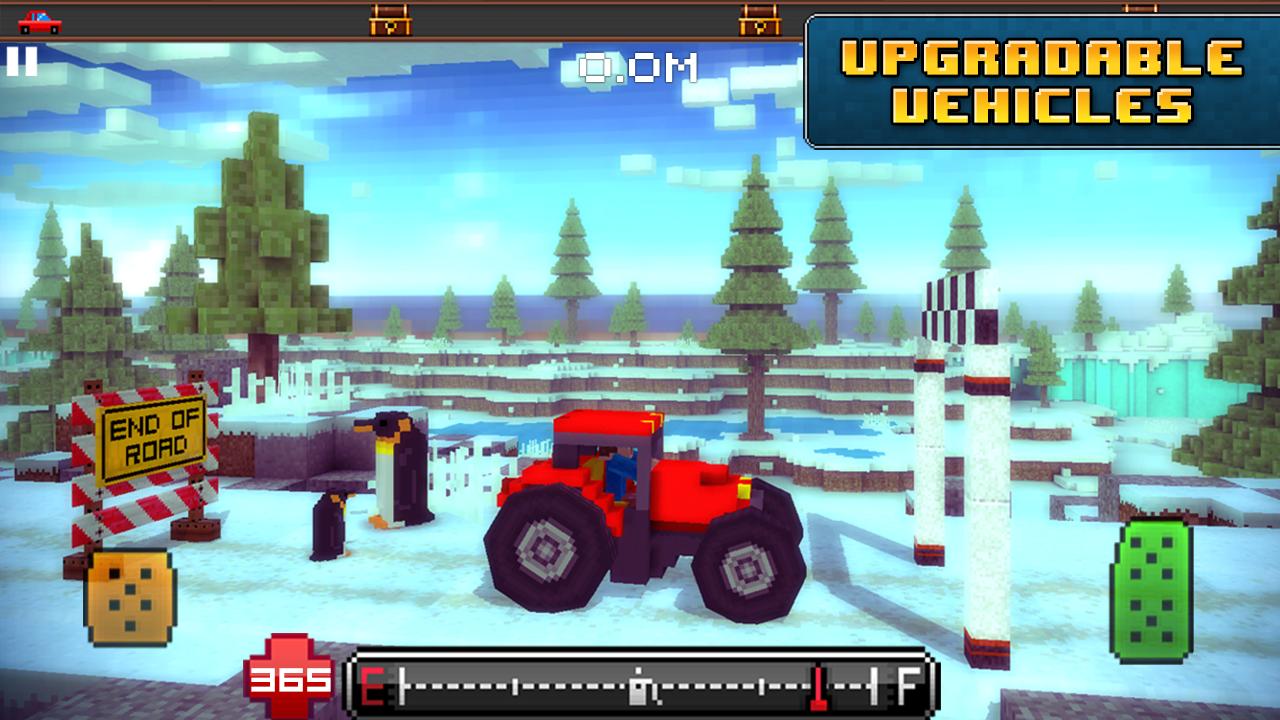 Blocky Roads screenshot #5
