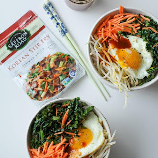 Bibimbop with Korean Stir Fry Simmer Sauce