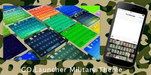 GO Launcher Military Theme