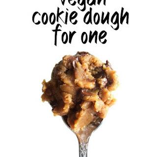 Vegan Cookie Dough for One Recipe