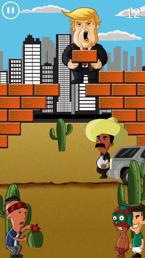 Donald Trump Wall- screenshot