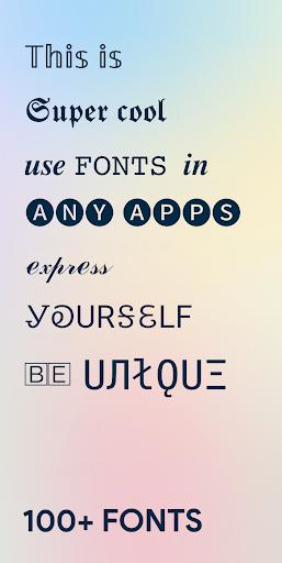Fancy Fonts u2013 Cool Fonts & Stylish Text Generator Screenshots 1