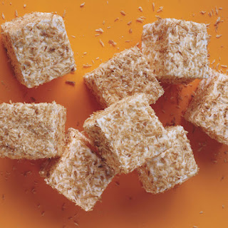 Toasted-Coconut Marshmallow Squares.