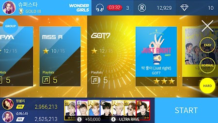 SuperStar JYPNATION APK screenshot thumbnail 14