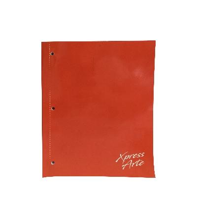 cuaderno 1 linea hojas puntudas xpressarte 128 paginas