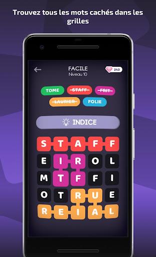 Word Box - Mots mêlés français  captures d'écran 1