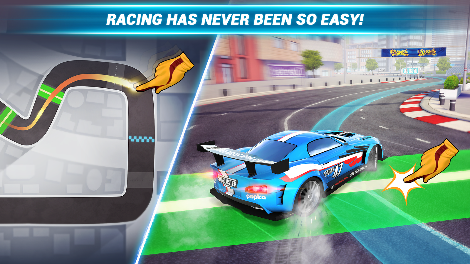Ridge Racer Draw And Drift- screenshot