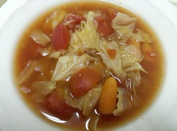Sweet And Sour Cabbage Soup Recipe