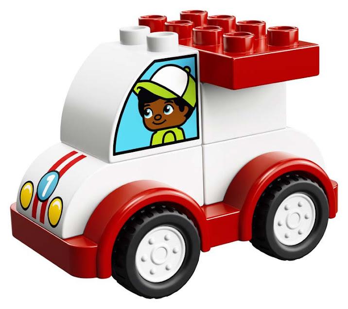 Contenido de Lego® 10860 Mi Primer Coche de Carreras