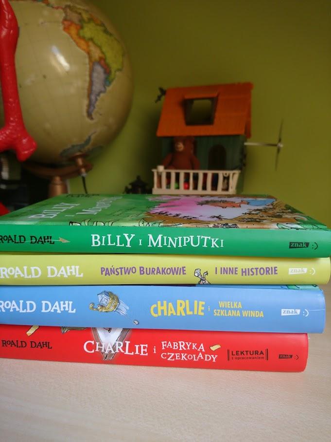 Roald Dahl, kilka książek