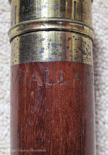 Photo: Alfred Russel Wallace's telescope. Property of the Wallace family. Copyright George Beccaloni