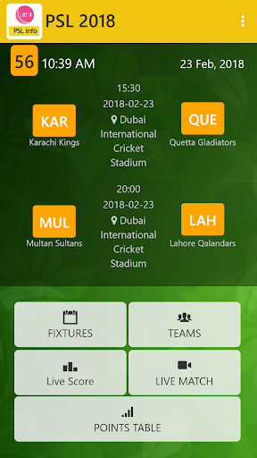 Live PSL T20 for PC